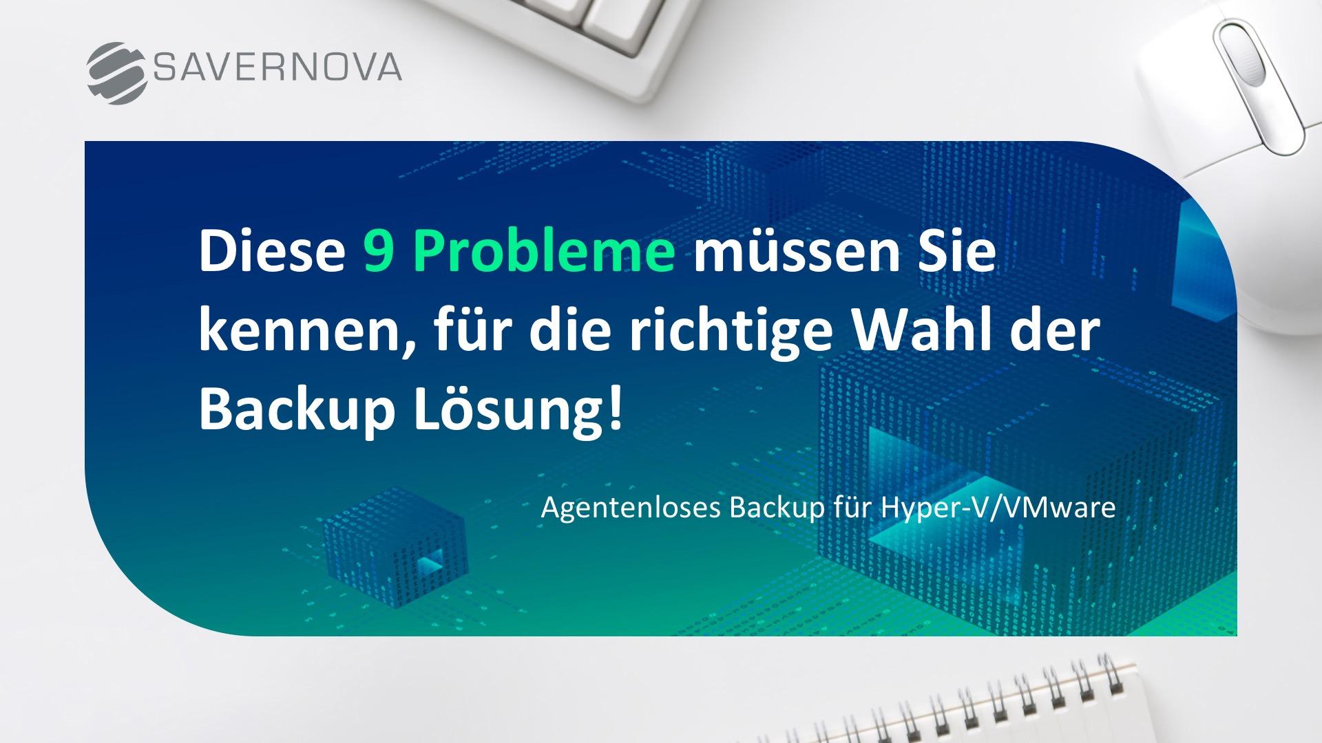 9 Probleme
