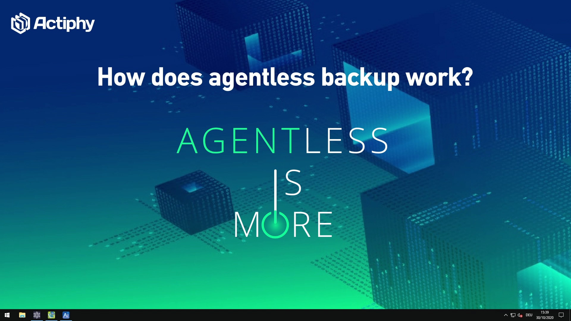 agentless backup